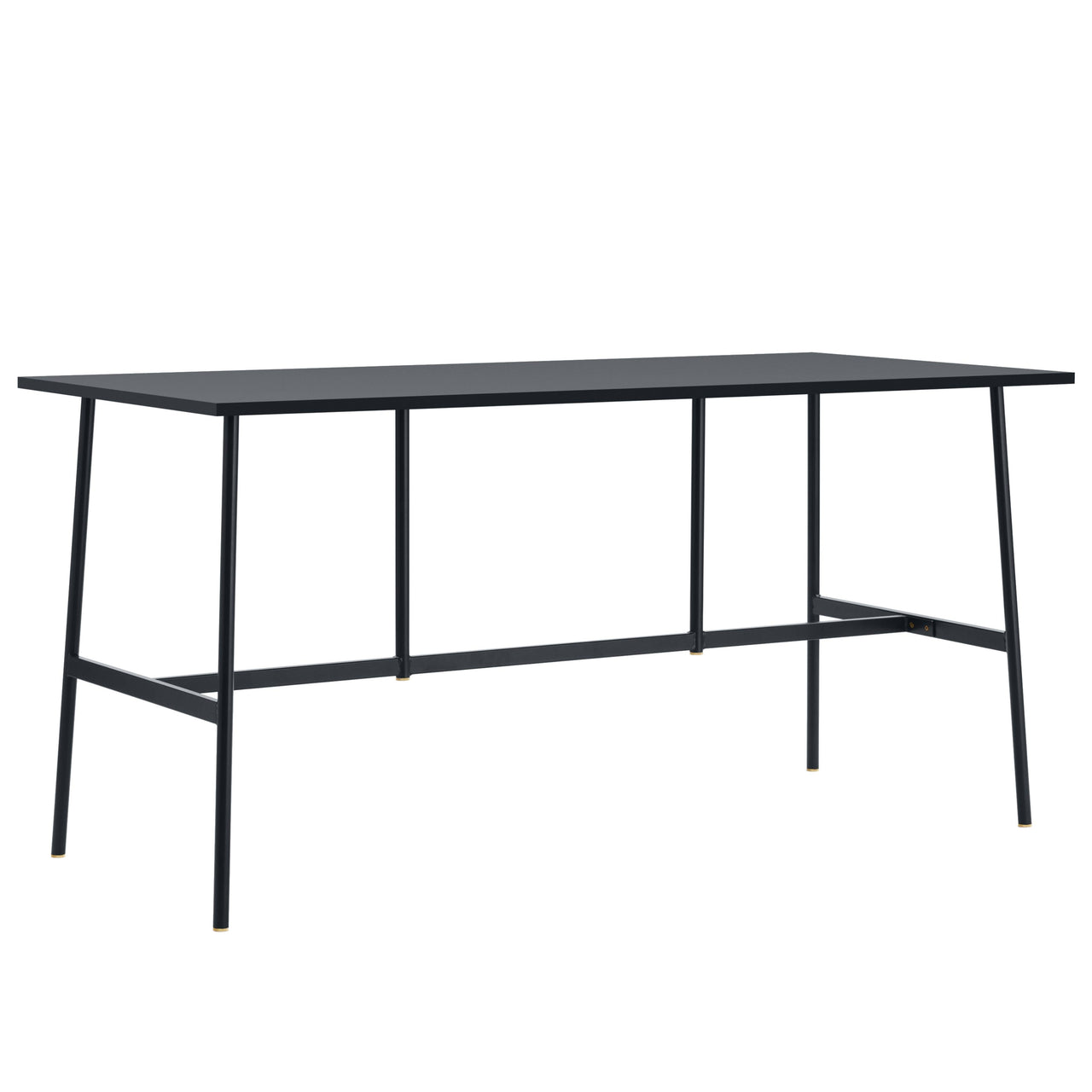 Union Bar Table: 95.5 + Small + Black