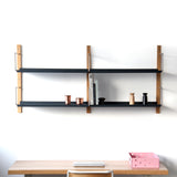 Croquet Shelving System: Wall