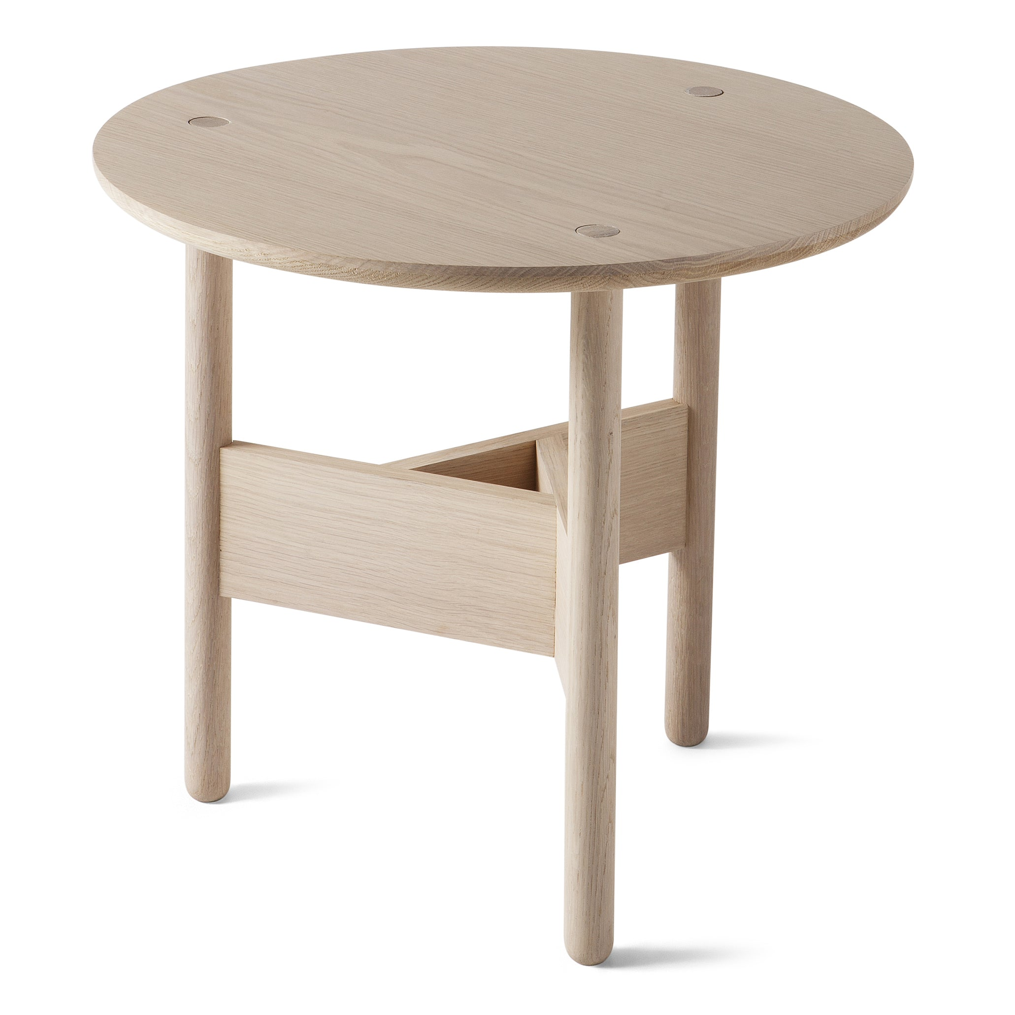 Orbital Coffee Table: Large + Oak