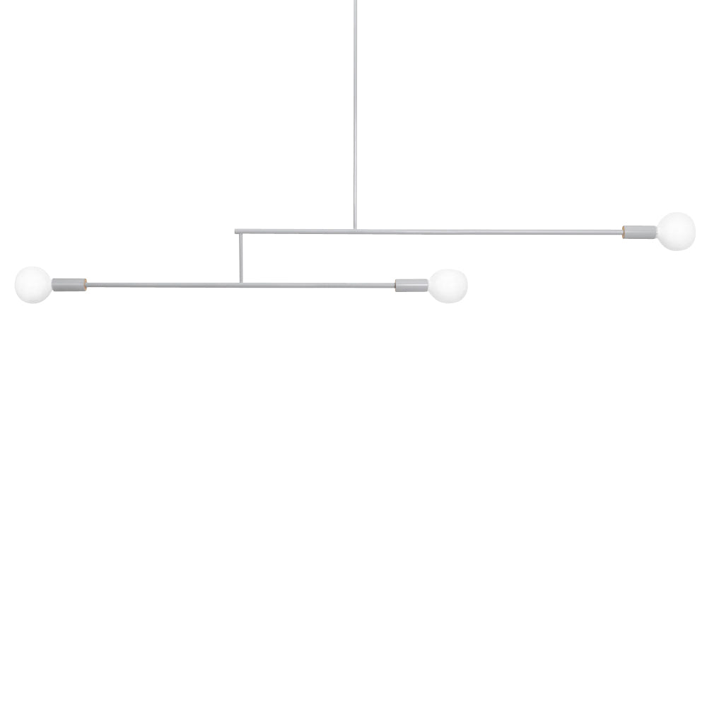Big Mobile Light: 2 Arms + Grey