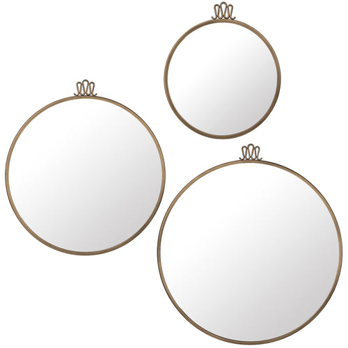 Randaccio Wall Mirror : Large + Medium + Small