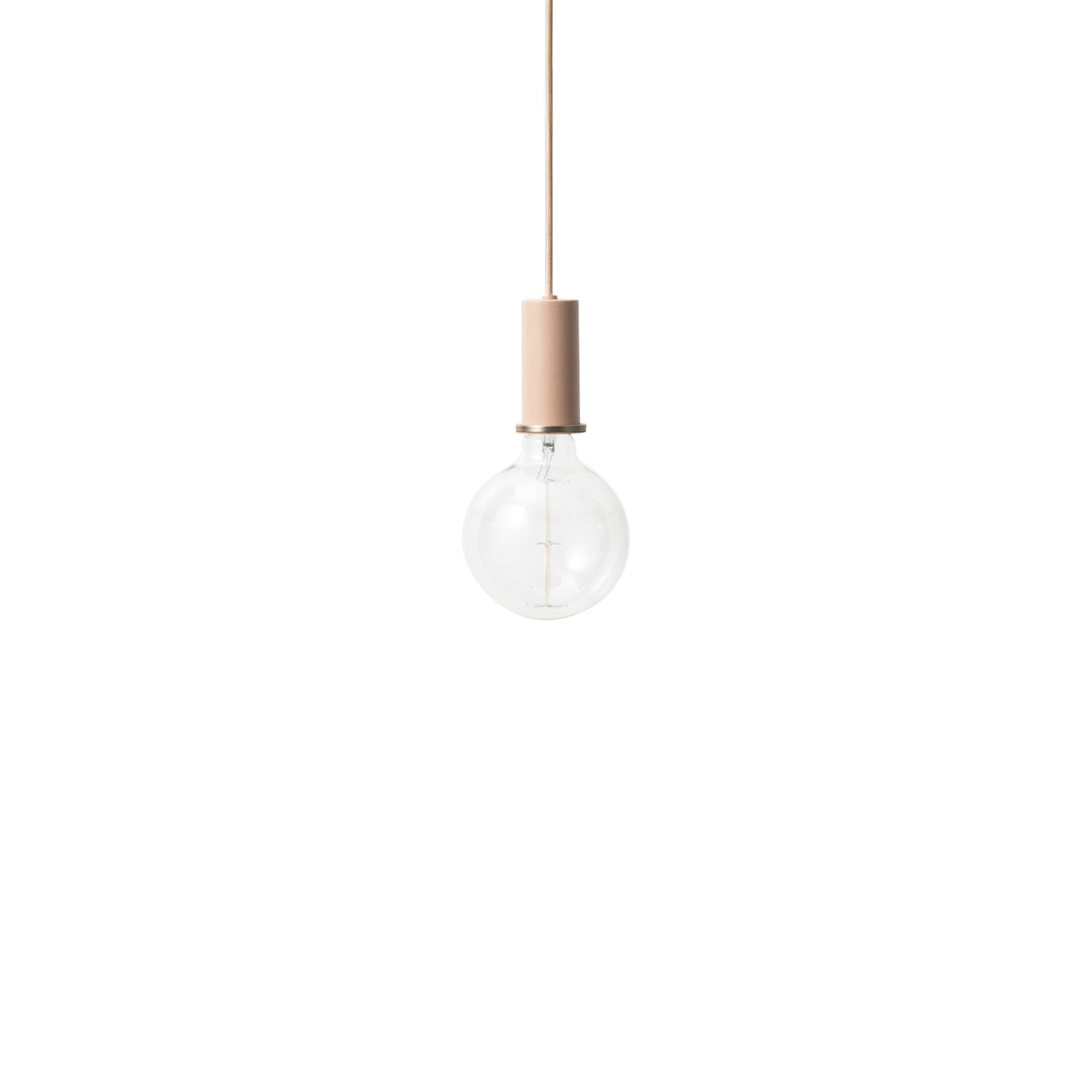 Collect Lighting: Pendant + Low + Rose
