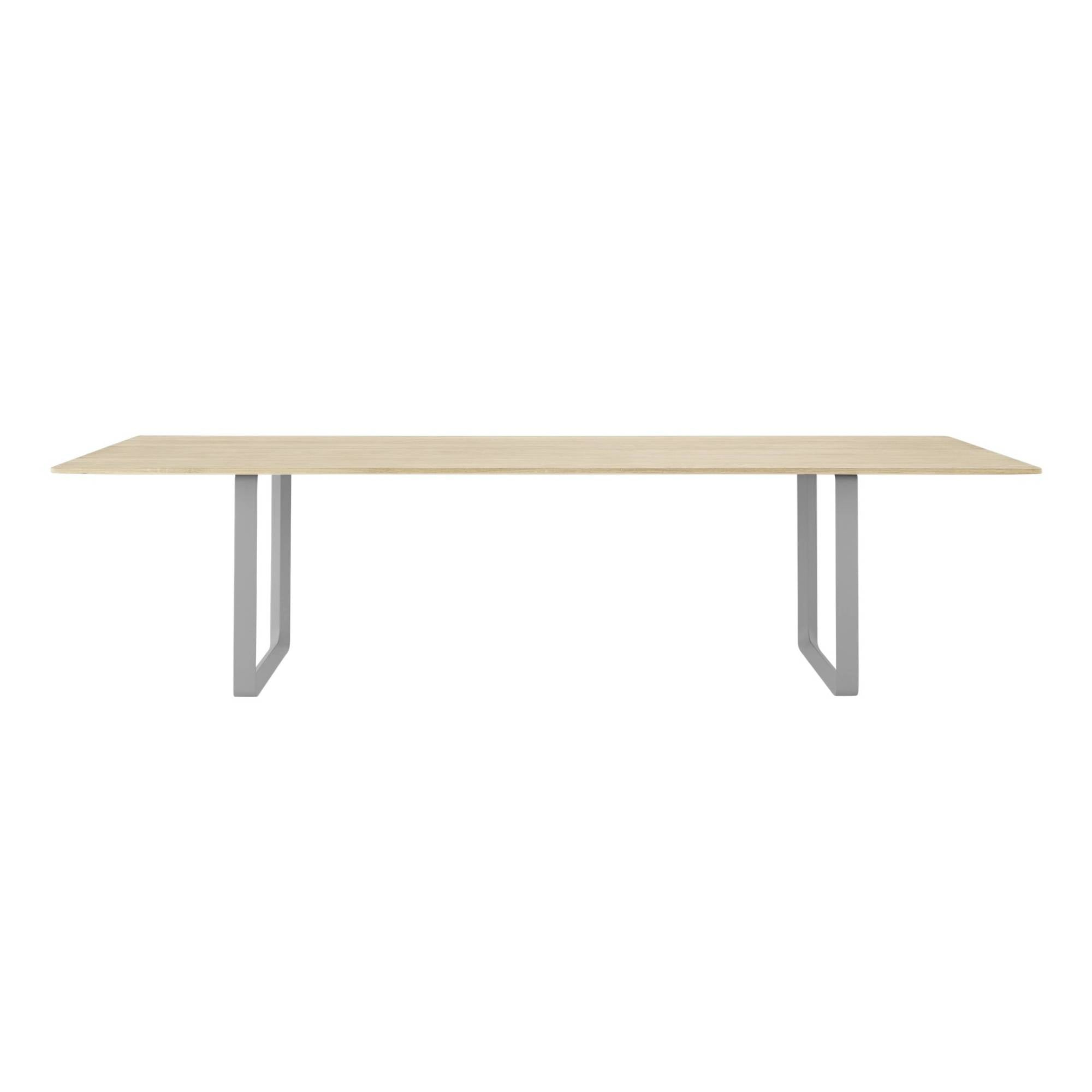 70/70 Table: Solid Oak + XX Large + Grey