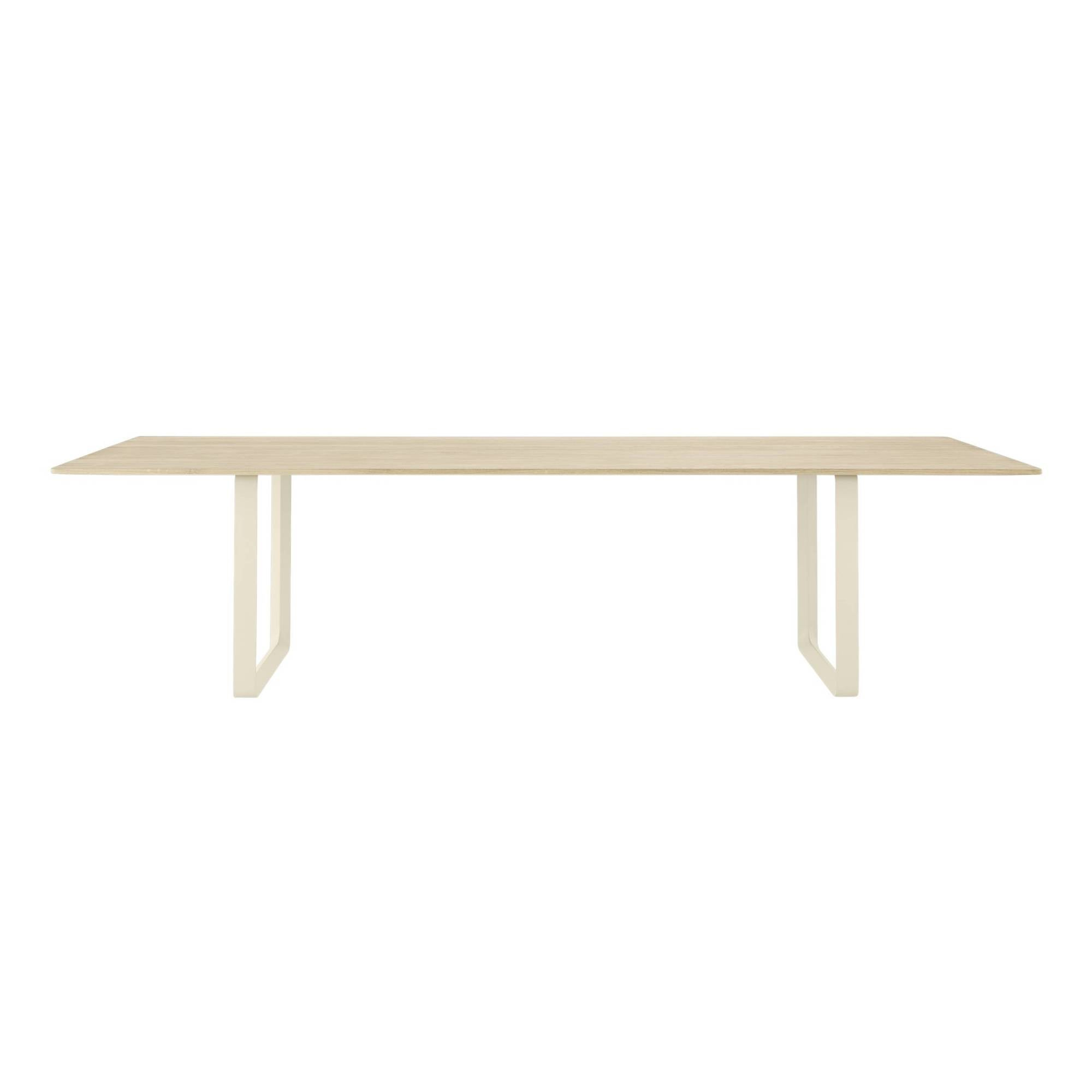 70/70 Table: Solid Oak + XX Large + Sand
