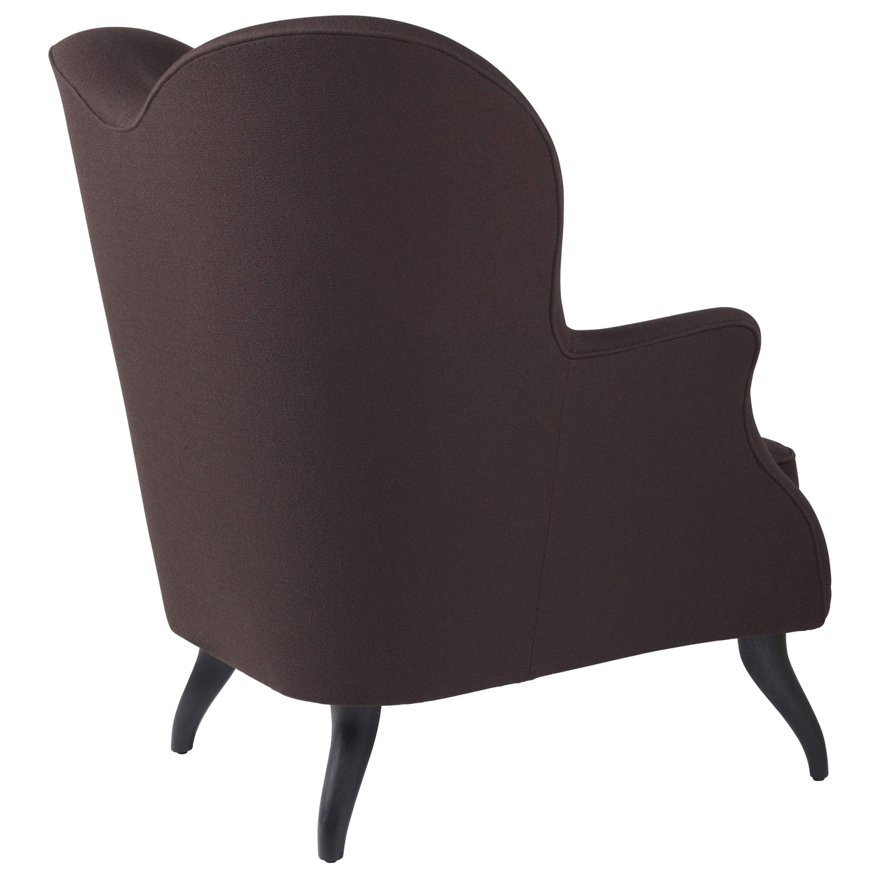 Bonaparte Lounge Chair: Black Stain Beech