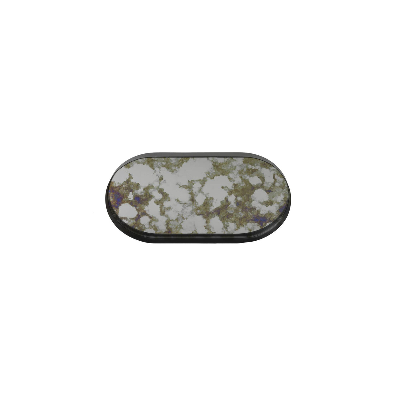 Coupled Tray: Moss Green + Oval + Small