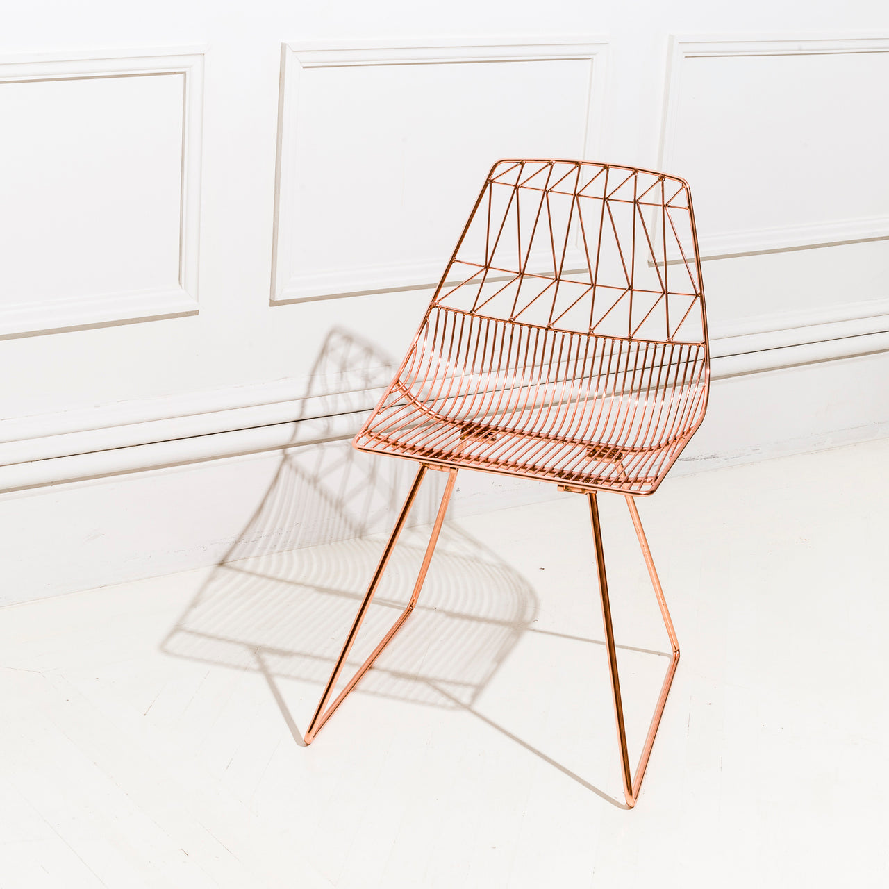 Lucy Chair: Metallic