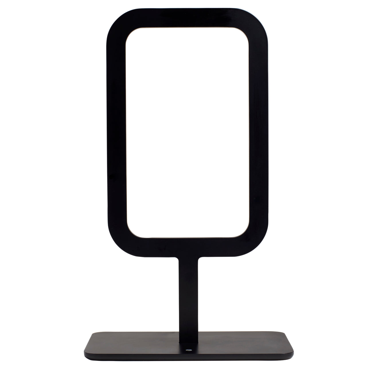Framed Table Lamp: Black