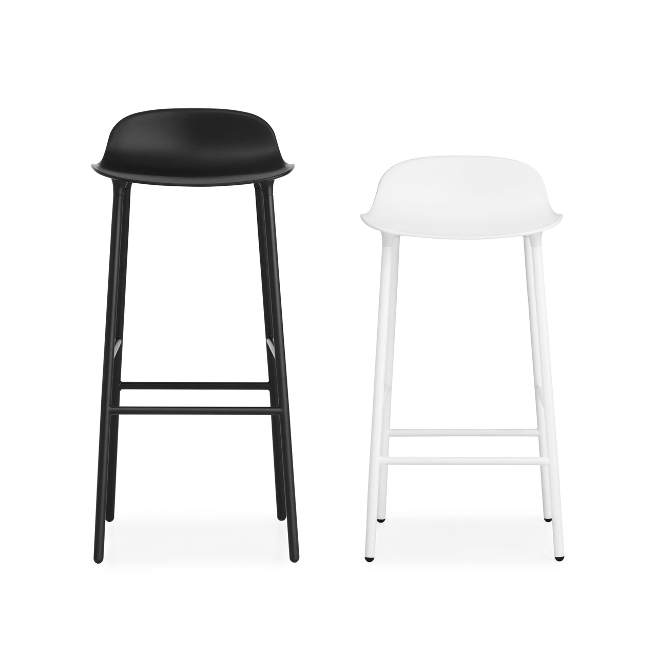 Form Bar + Counter Stool: Steel