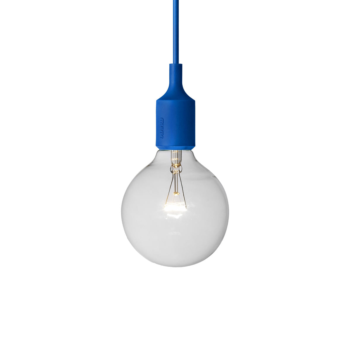 E27 Silicone Light: Blue