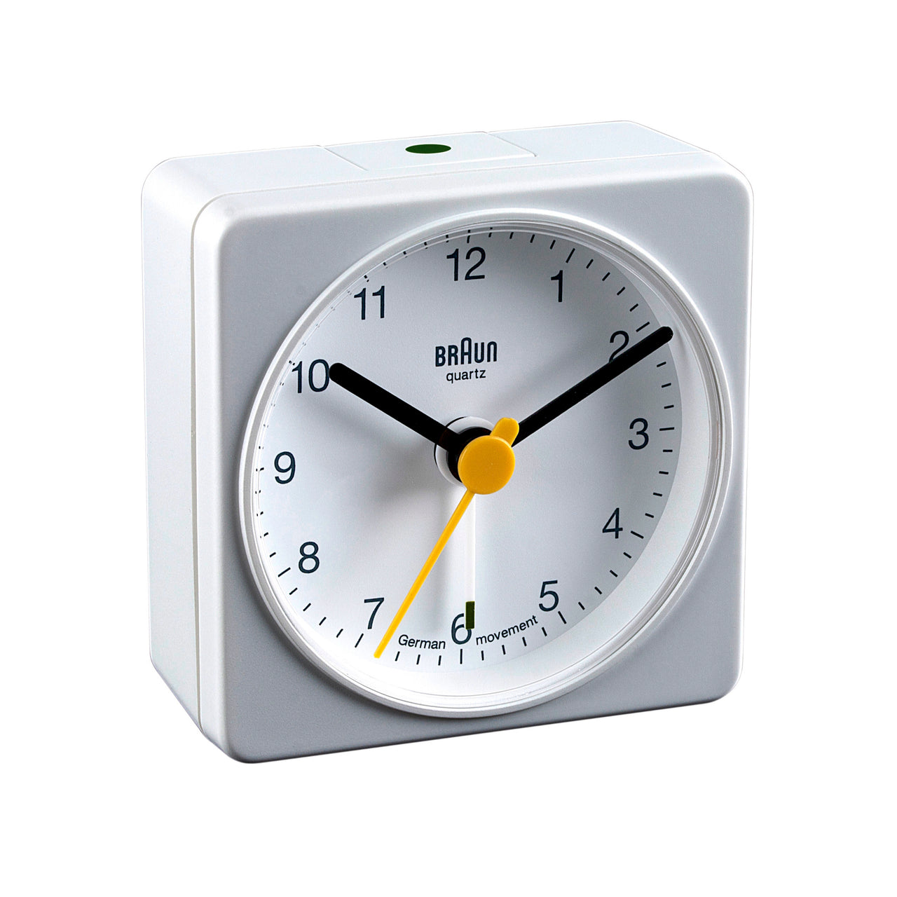 Travel/Mini Alarm Clock BNC002: White
