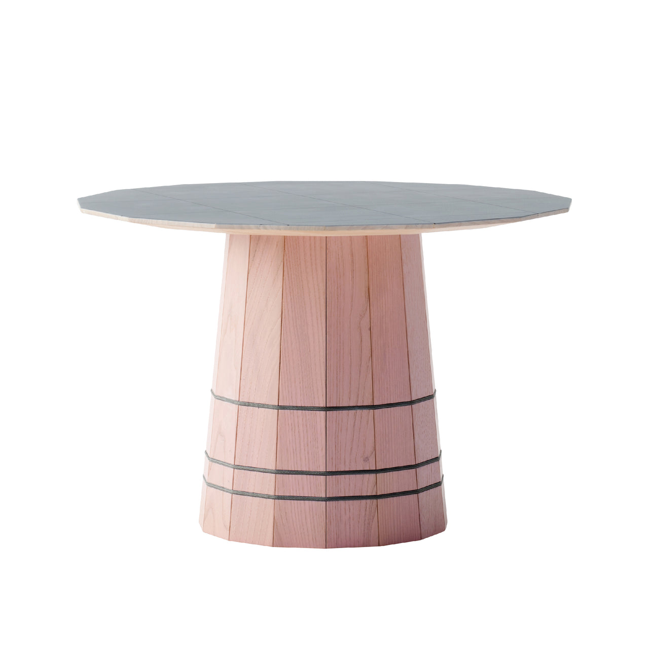 Colour Wood Tables: 600mm + Dark Grid