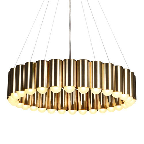 Carousel Pendant Light: Regular + Gold