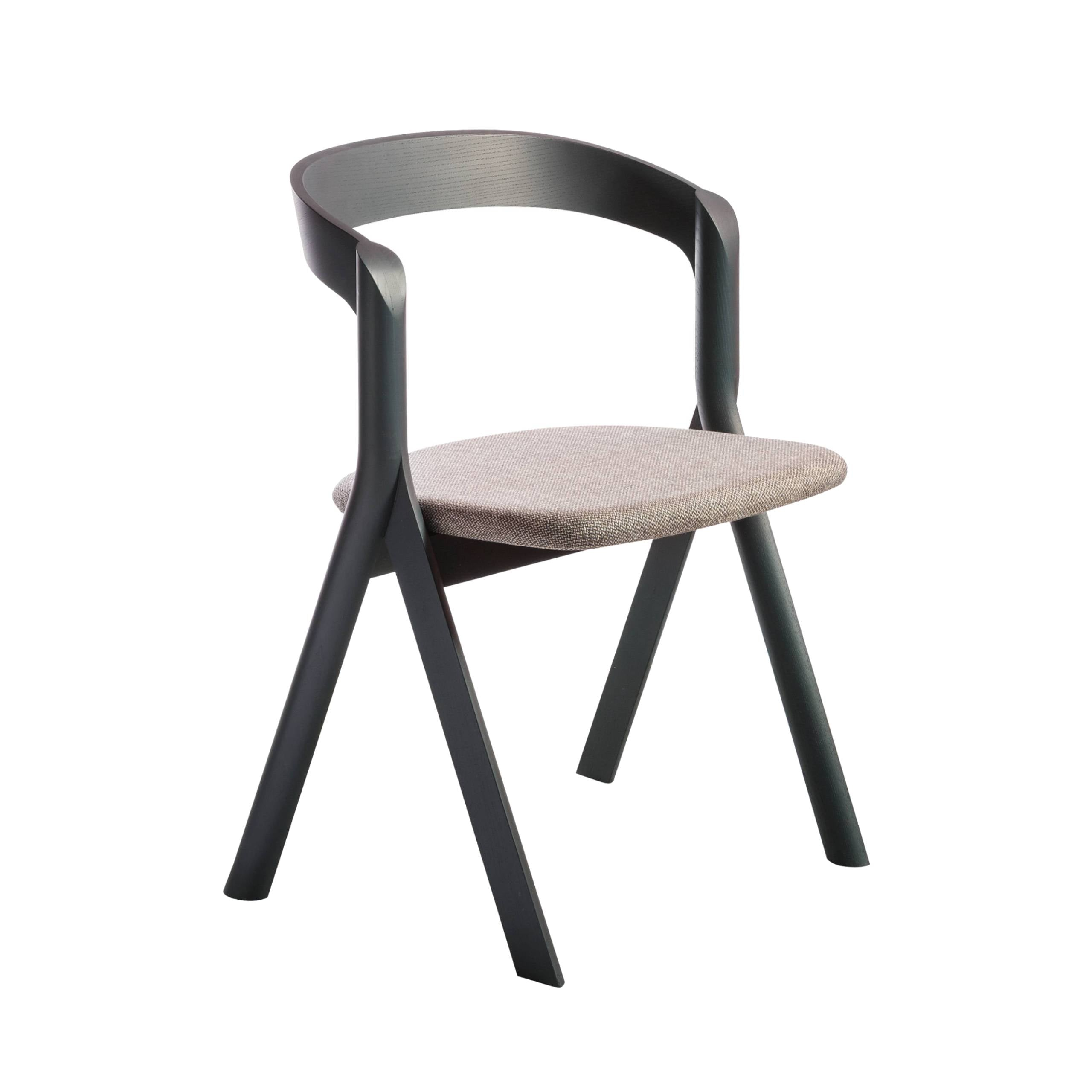 Diverge Chair: Ash Stained Black
