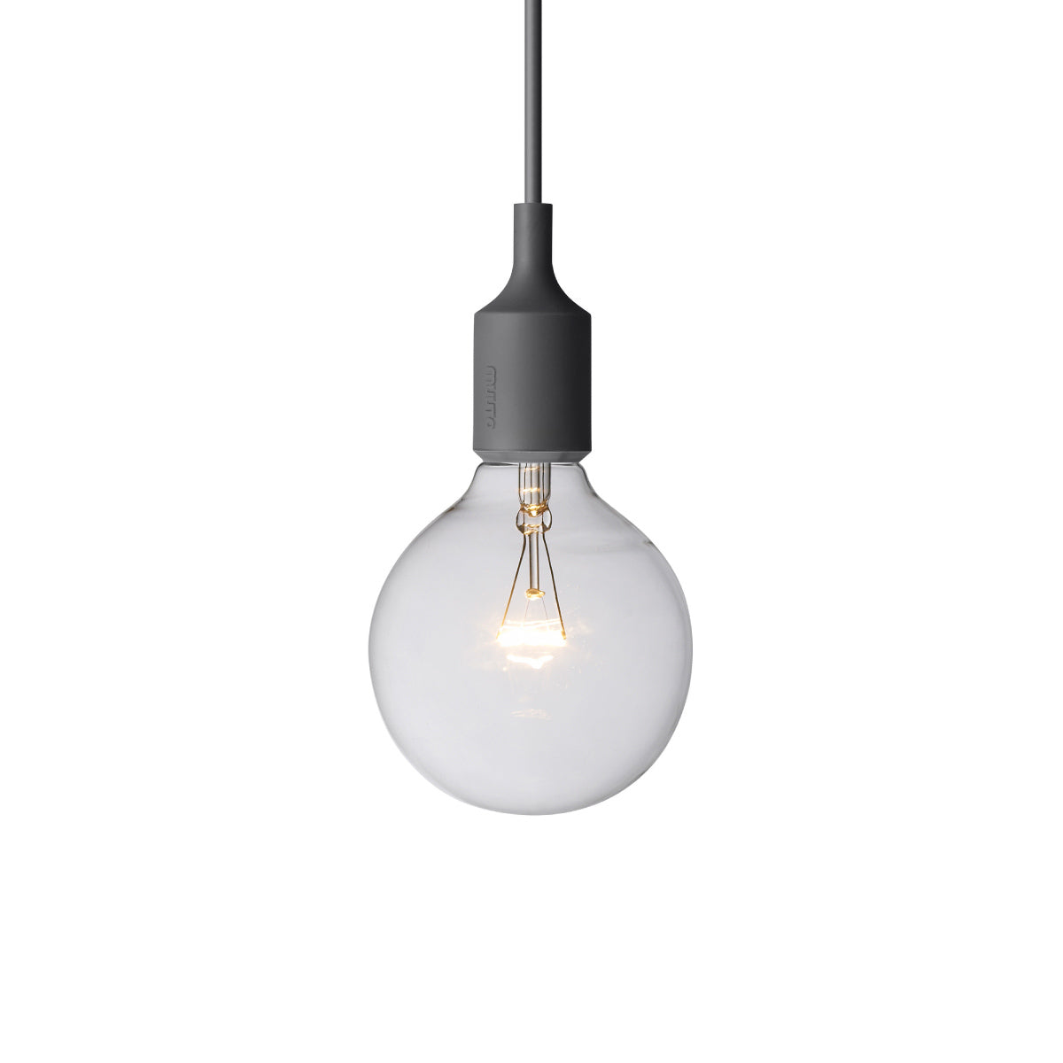 E27 Silicone Light: Dark Grey