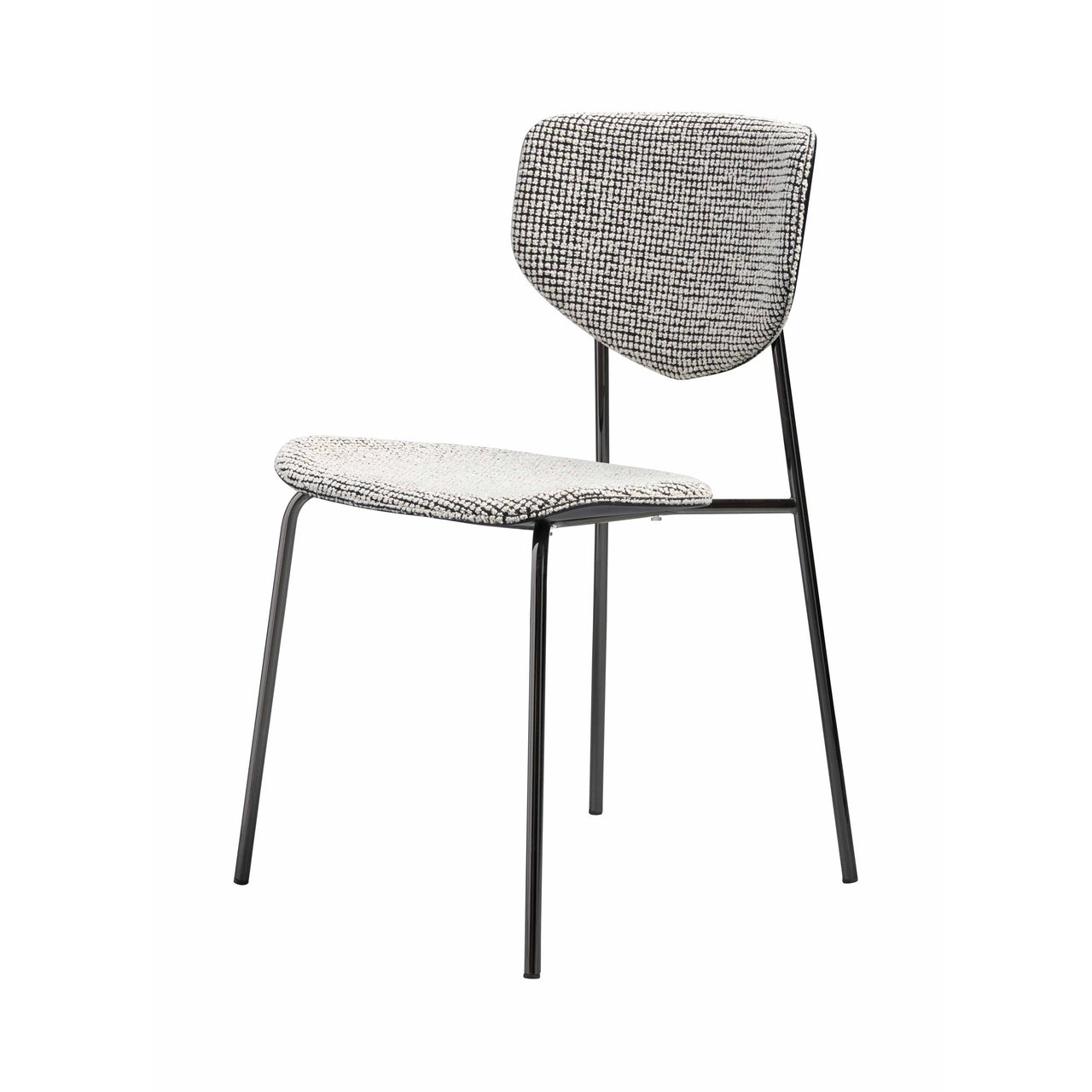 Caristo Chair: Upholstered