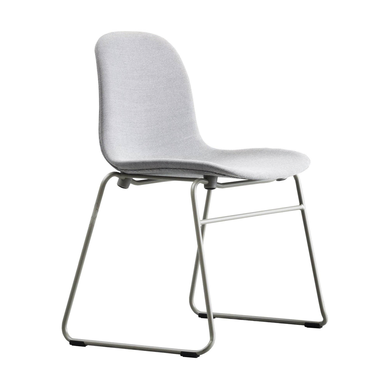 Form Stacking Chair: Chrome Upholstered