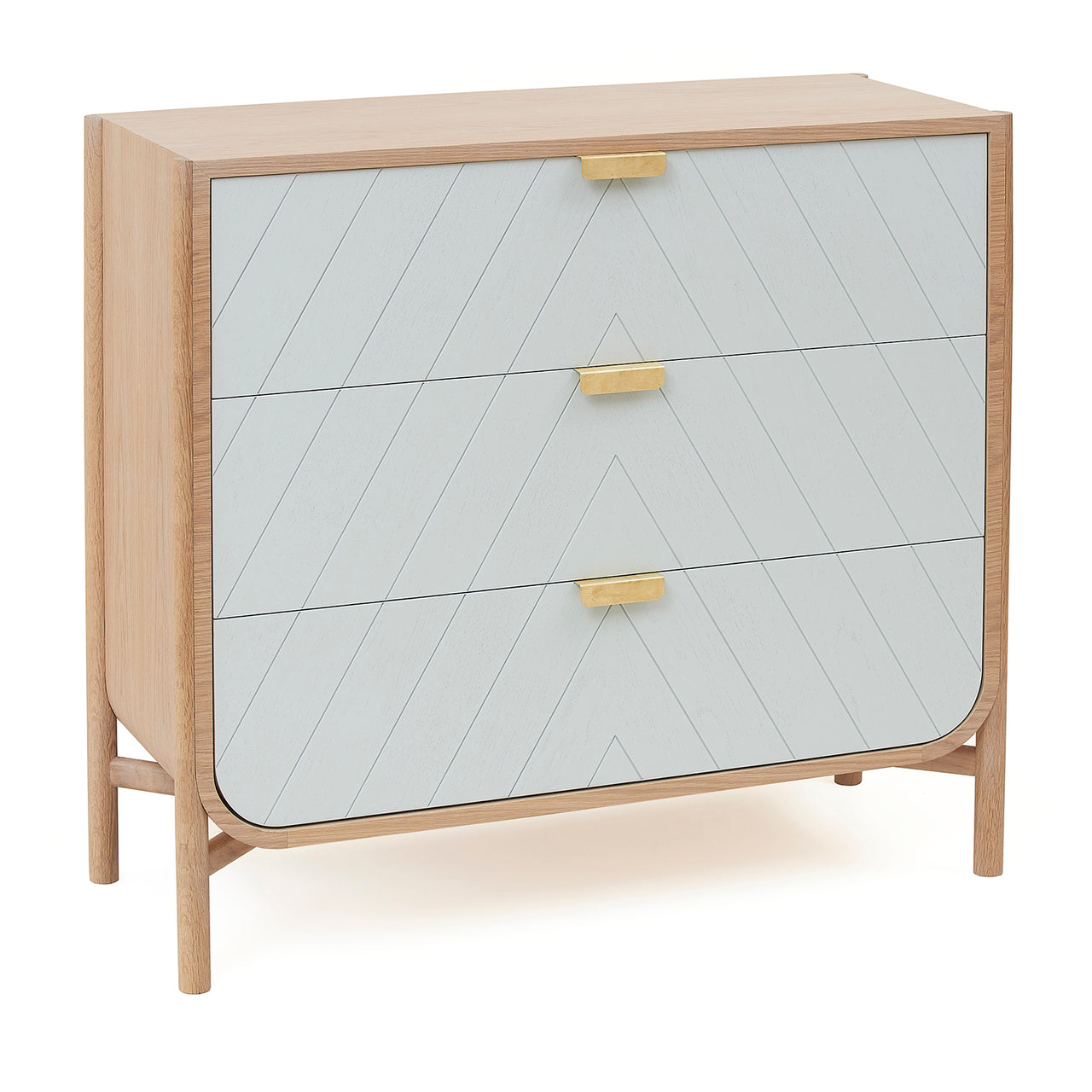 Marius Chest of Drawers: Light Grey