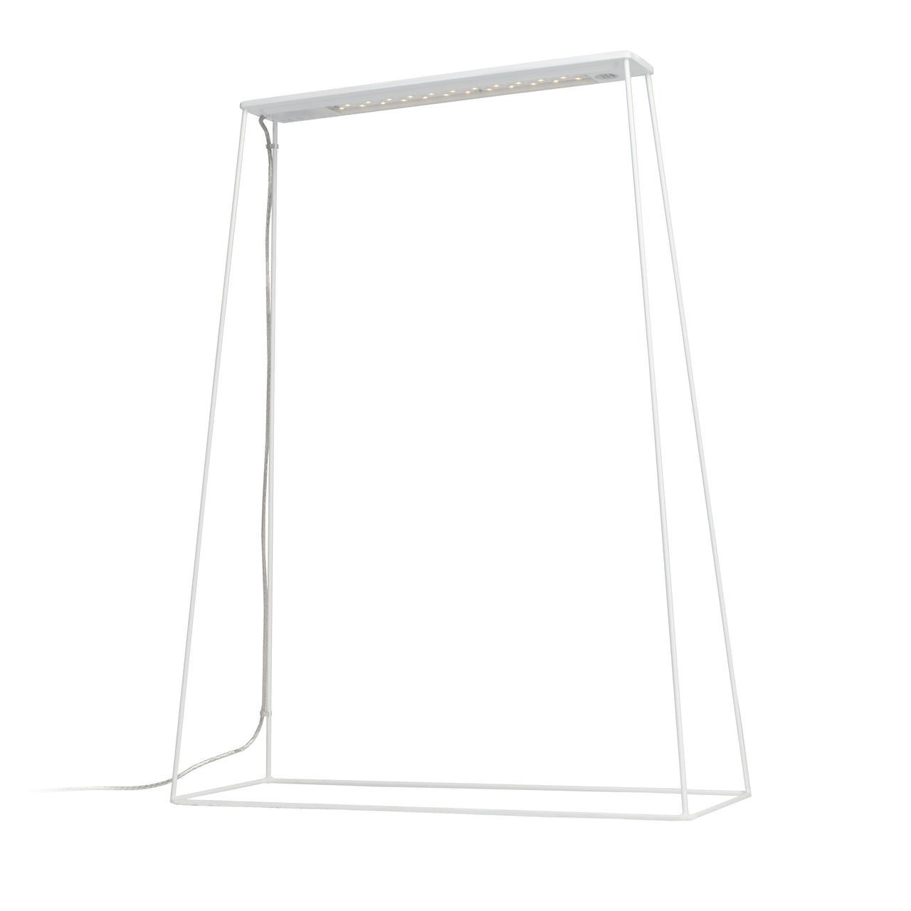 Fine400 Table Lamp: White