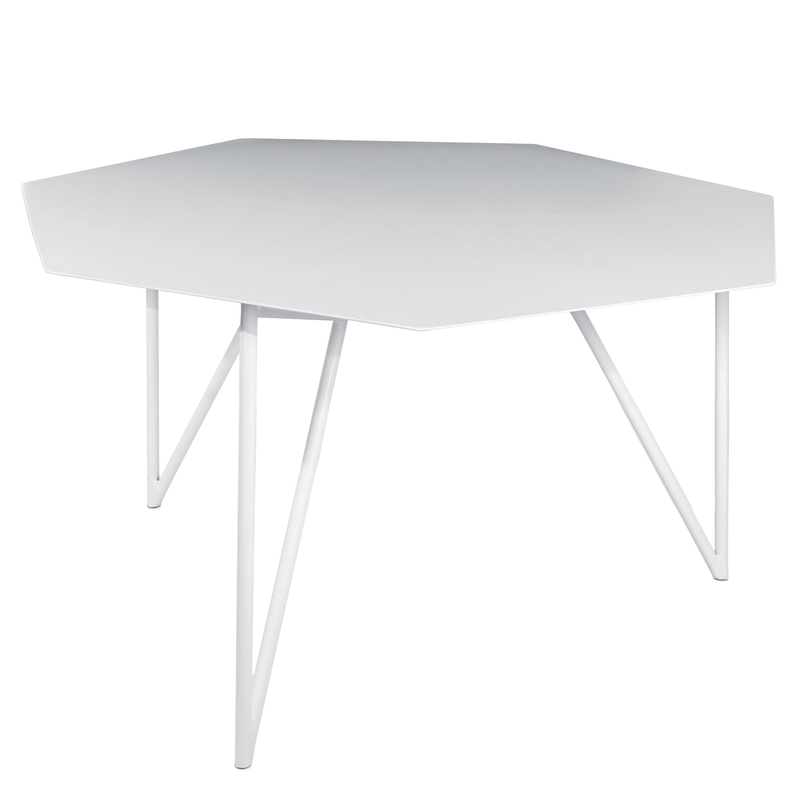 Terra Coffee Table: Signal White