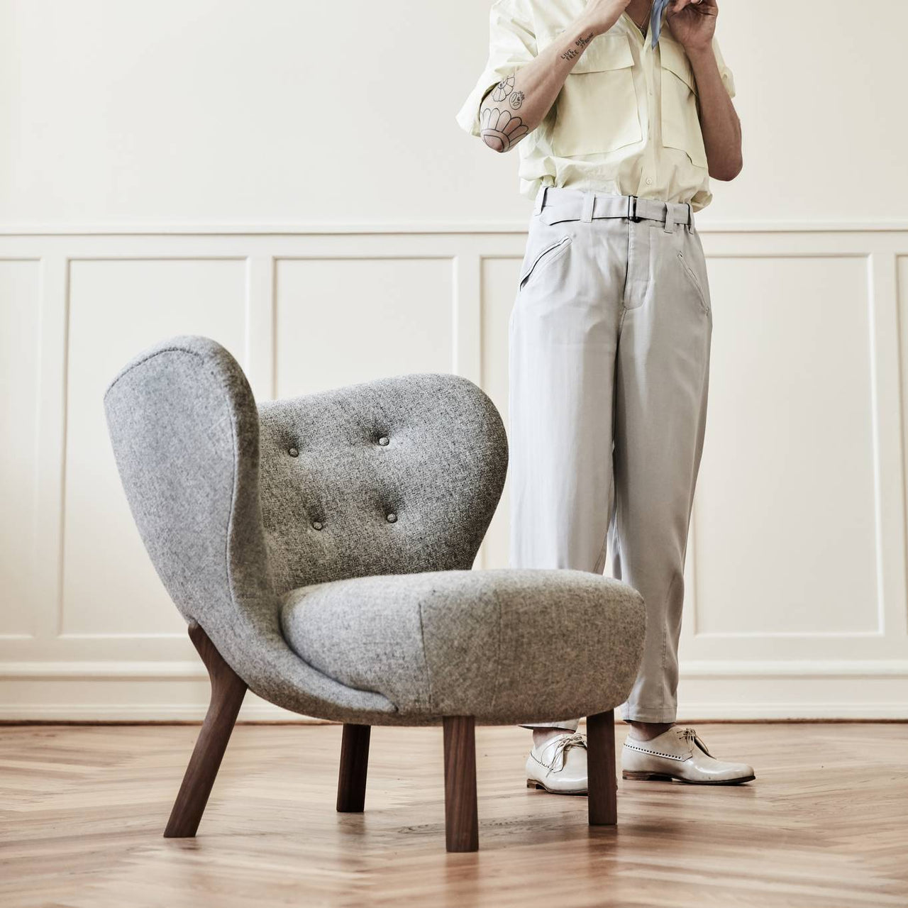 Little Petra Lounge Chair Vb1 Buy Tradition Online At A R