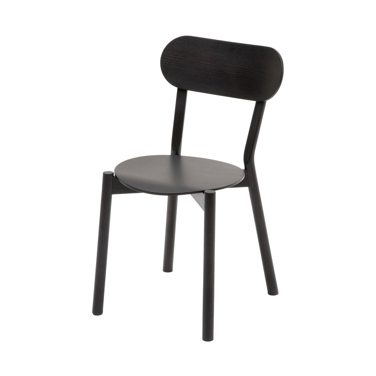 Castor Chair Plus: Black Oak