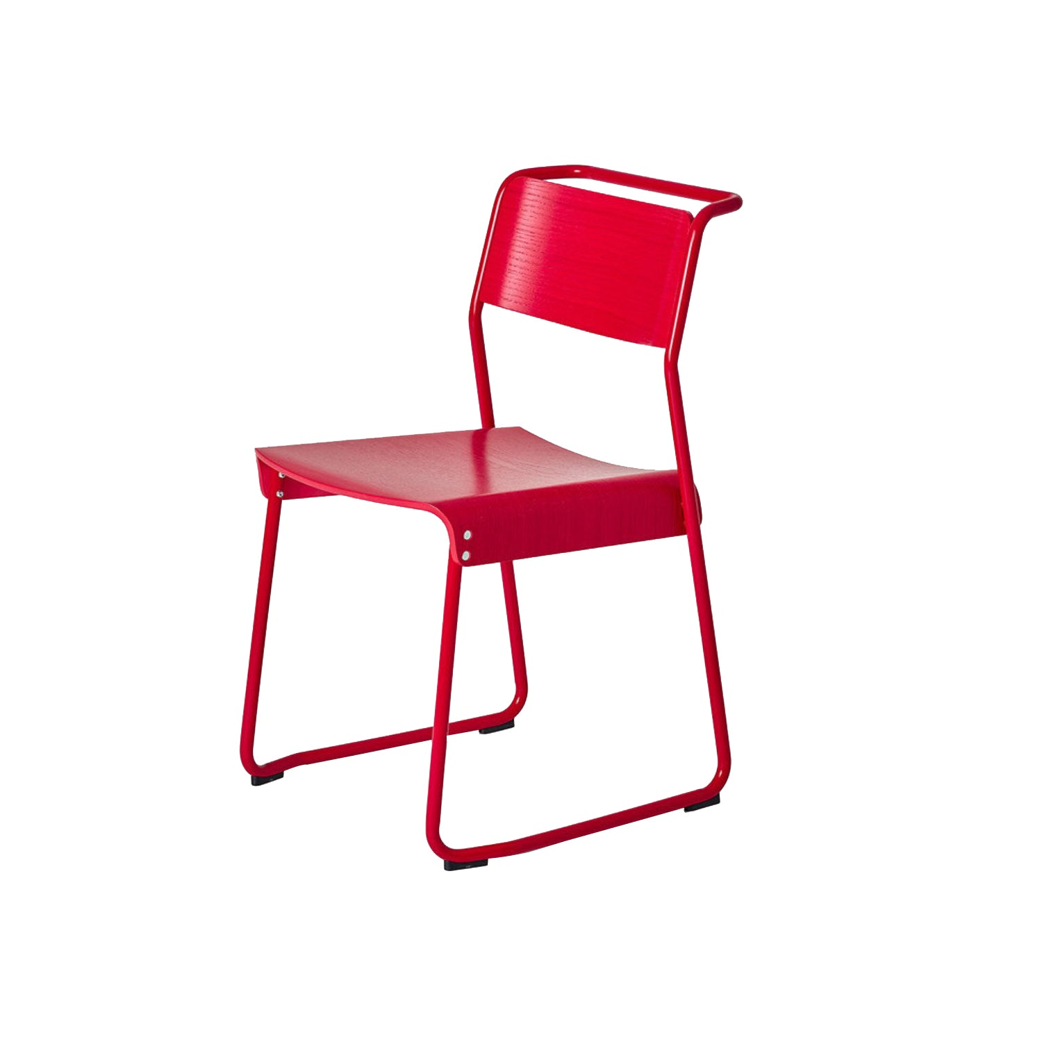 Canteen Utility Chair: Solid Colors + Signal Red