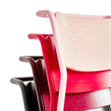 Canteen Utility Chair: Solid Colors + Black Red + Graphite + Light Pink + Signal Red