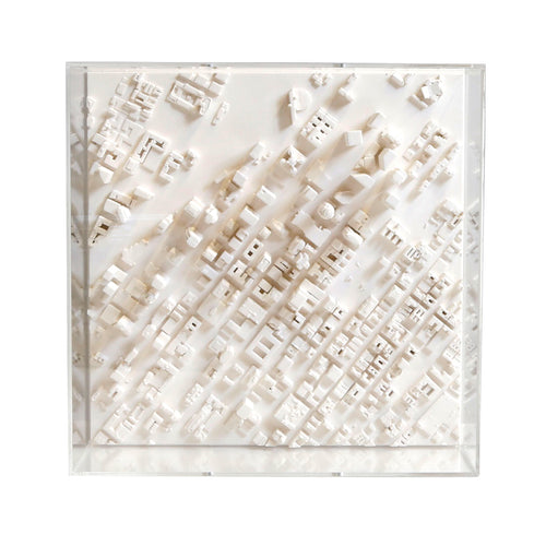 Los Angeles Cityscape Architectural Model