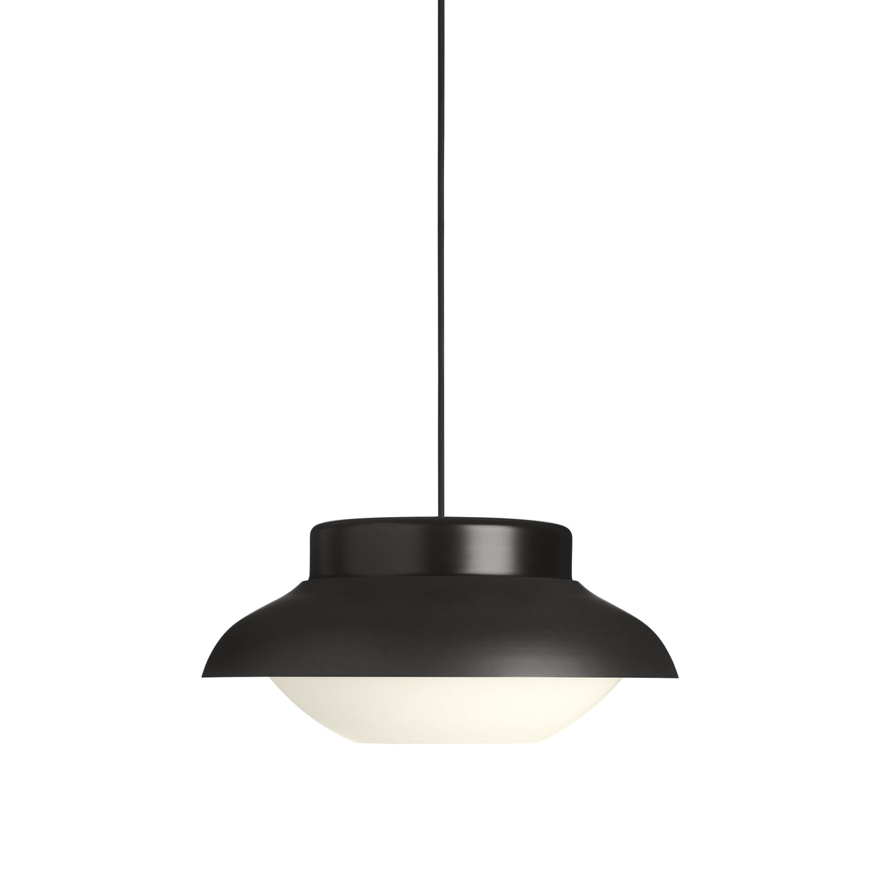 Collar Pendant Light: Large + Carbone