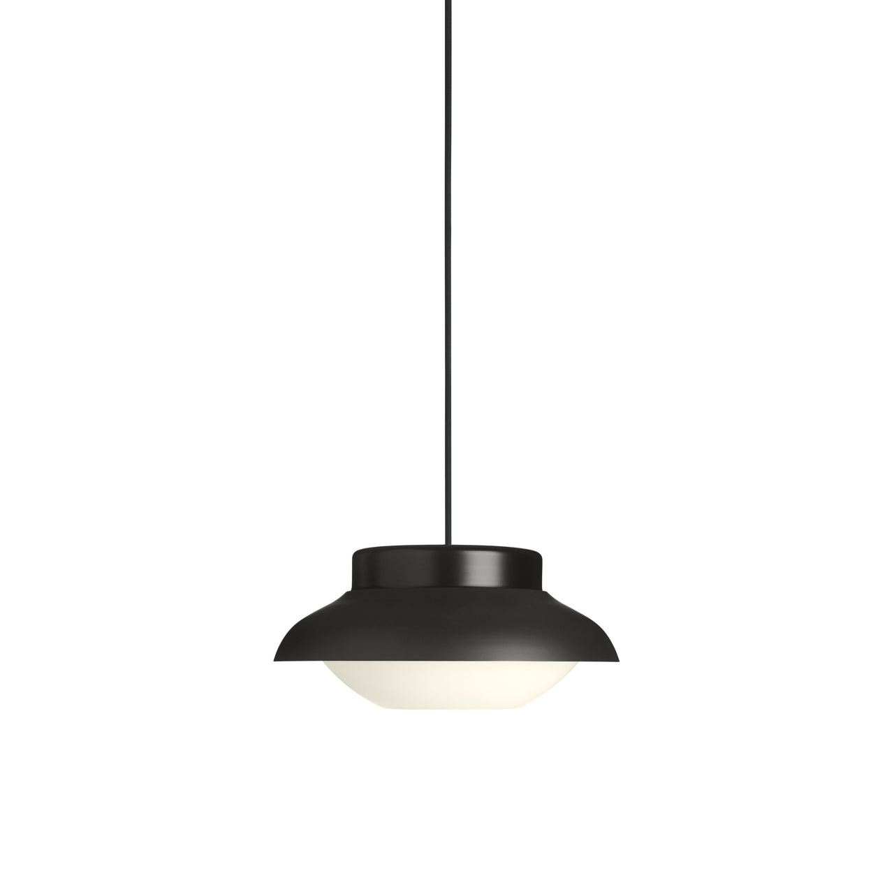Collar Pendant Light: Small + Carbone