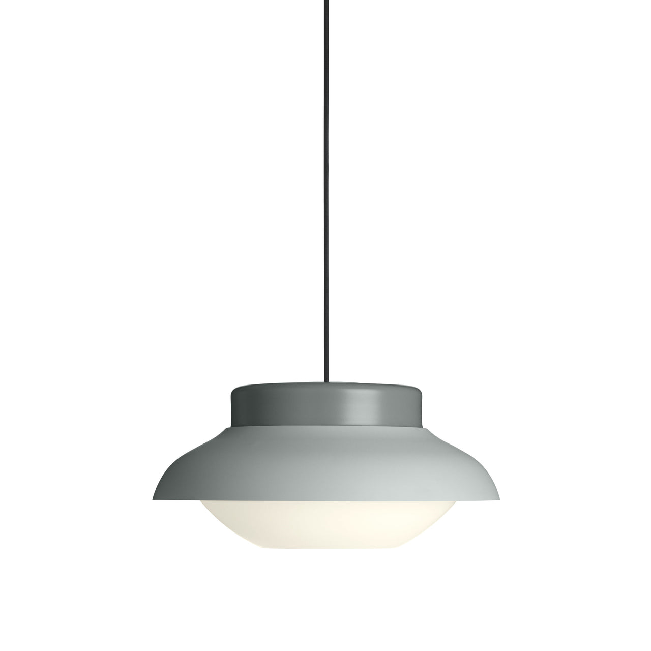 Collar Pendant Light: Large + Soft Fog