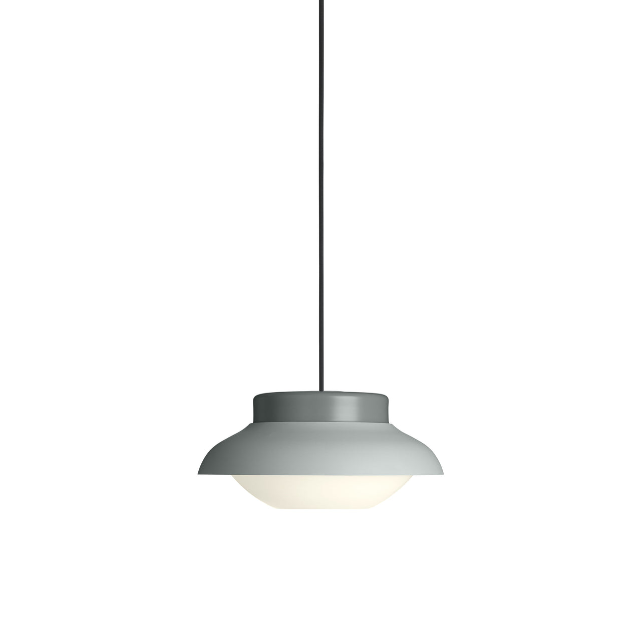 Collar Pendant Light: Small + Soft Fog