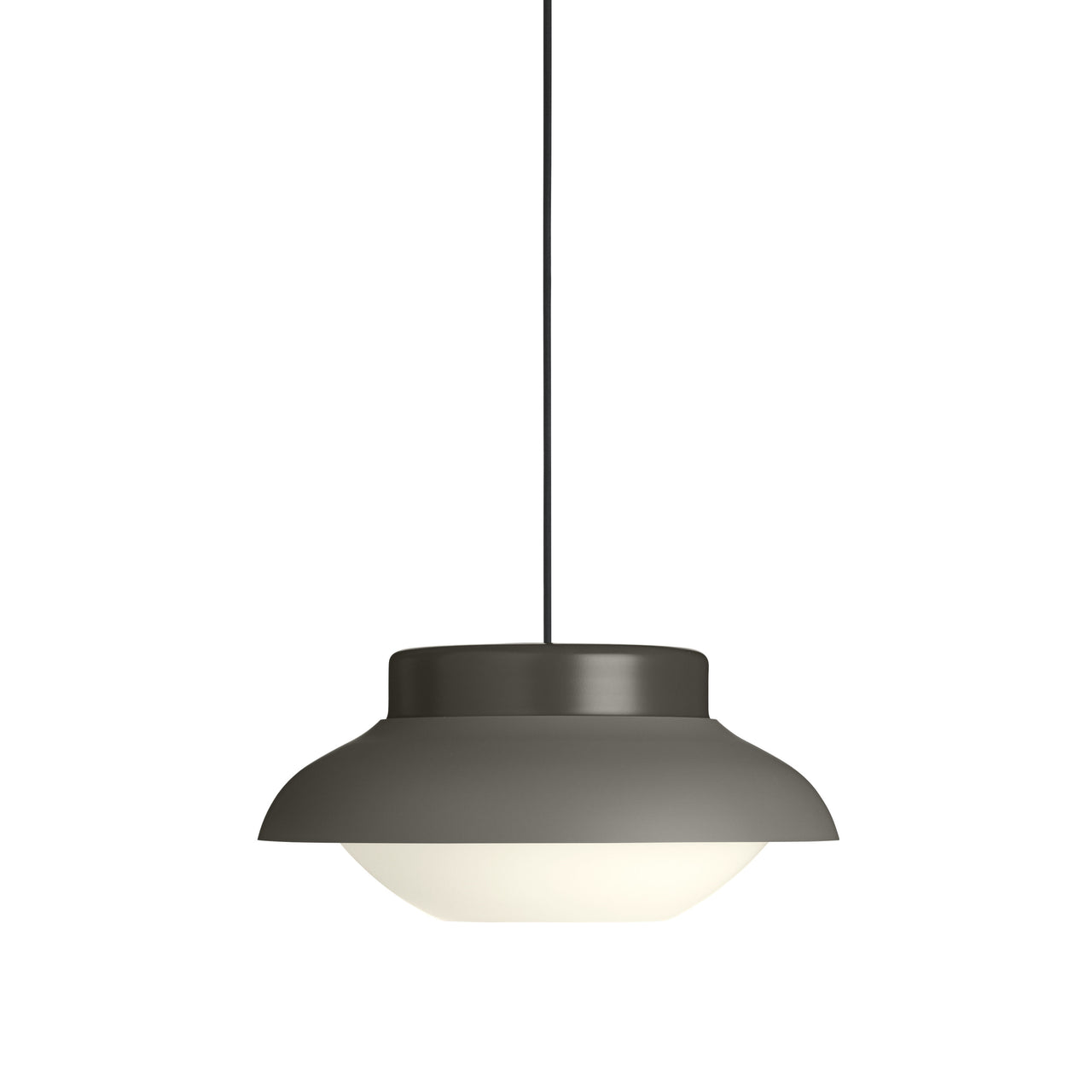 Collar Pendant Light: Large + Taupe