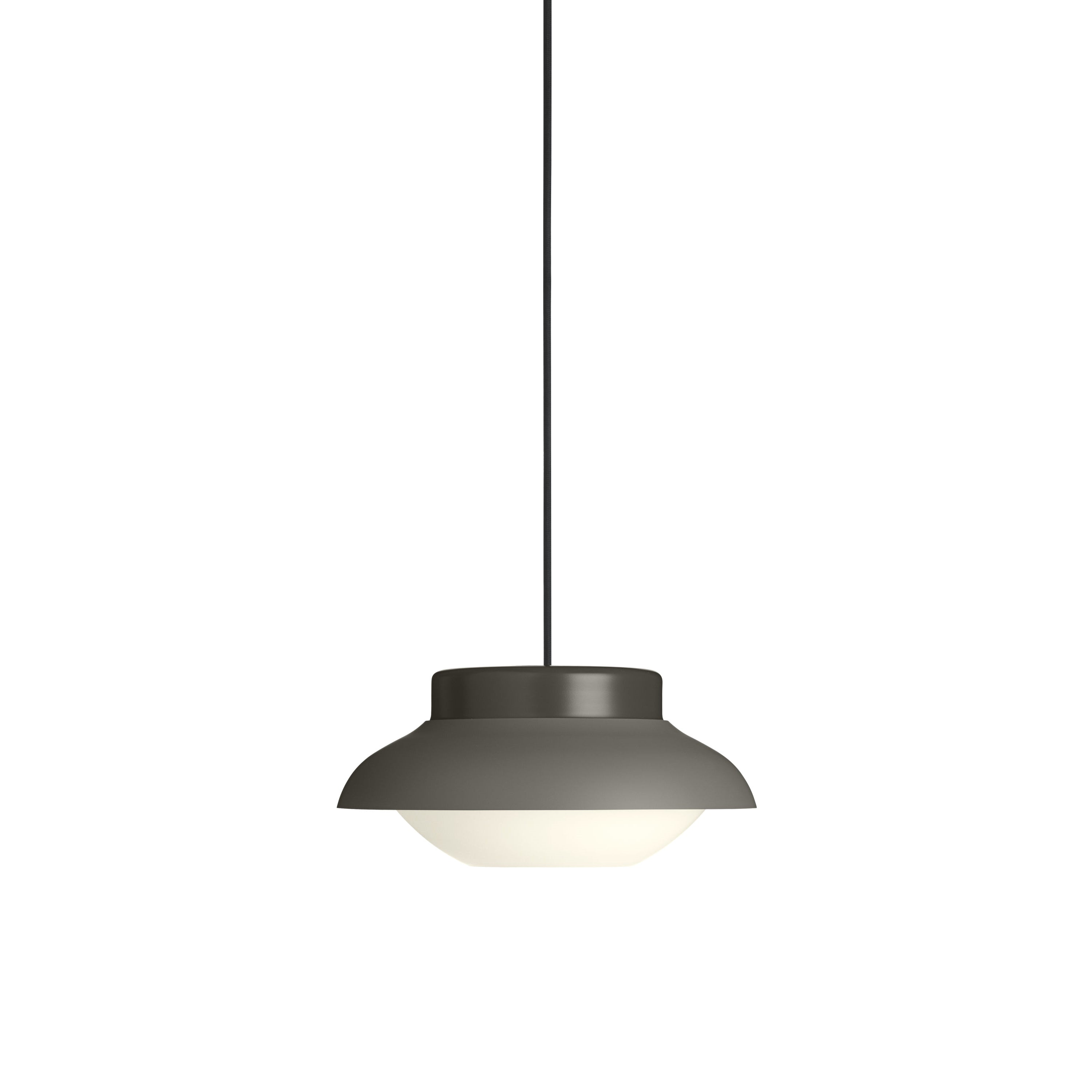 Collar Pendant Light: Small + Taupe