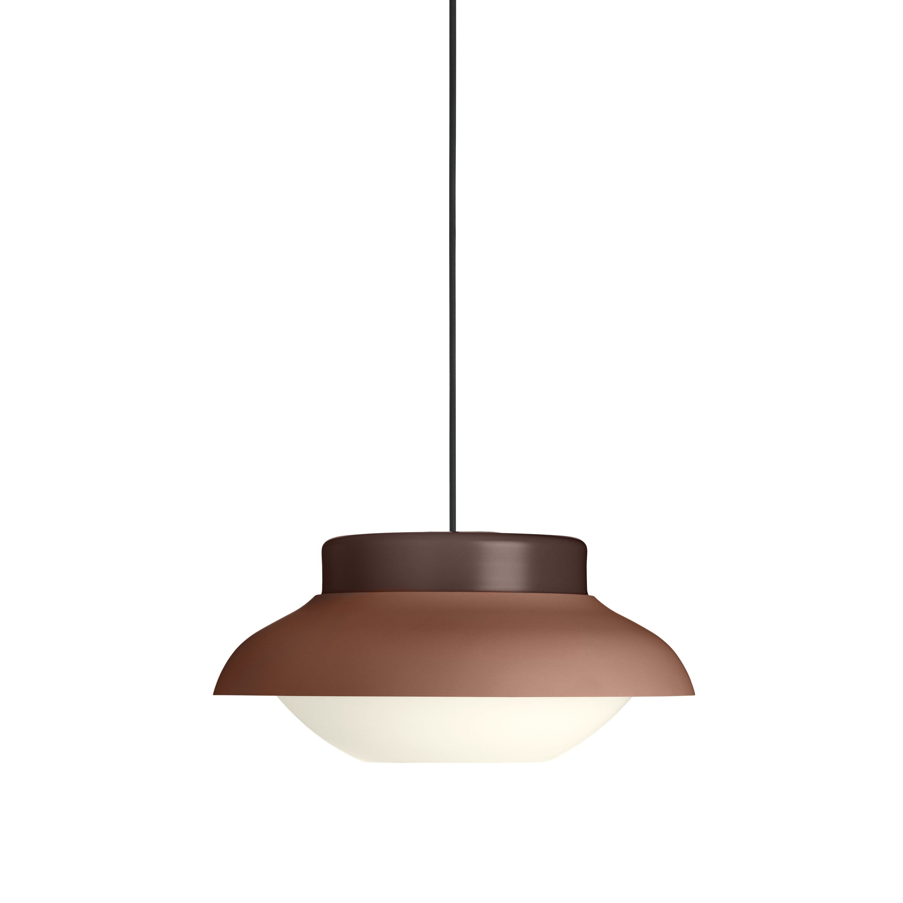 Collar Pendant Light: Large + Terracotta