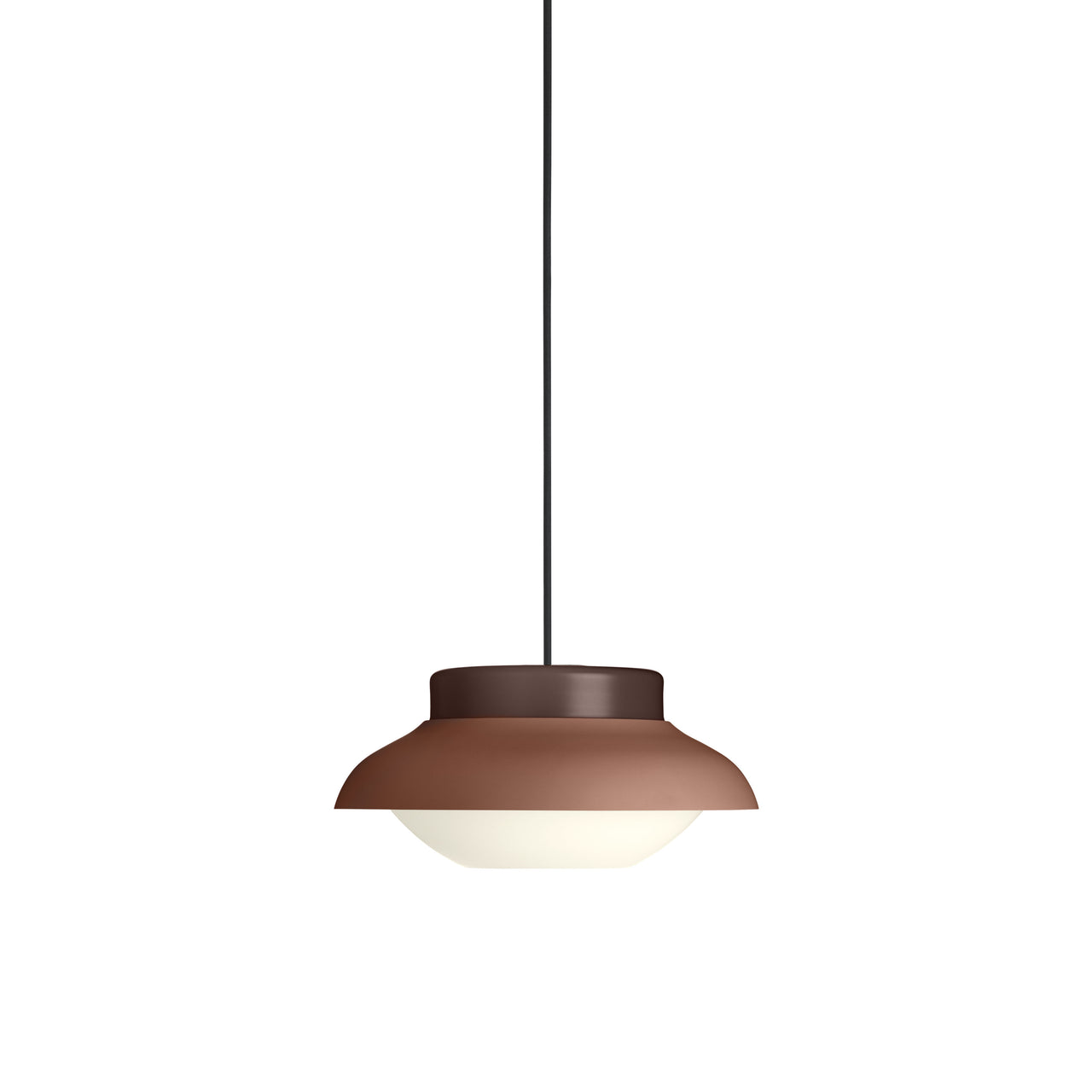 Collar Pendant Light: Small + Terracotta