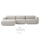 Develius Sofa - Configuration E