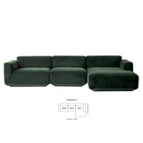 Develius Sofa - Configuration F