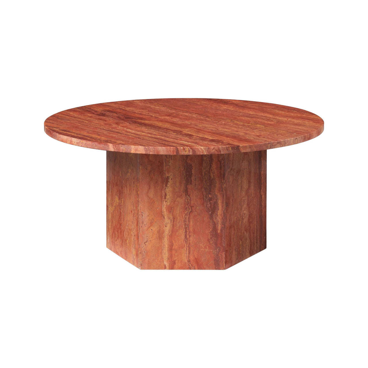 Epic Coffee Table: Round + Medium + Red