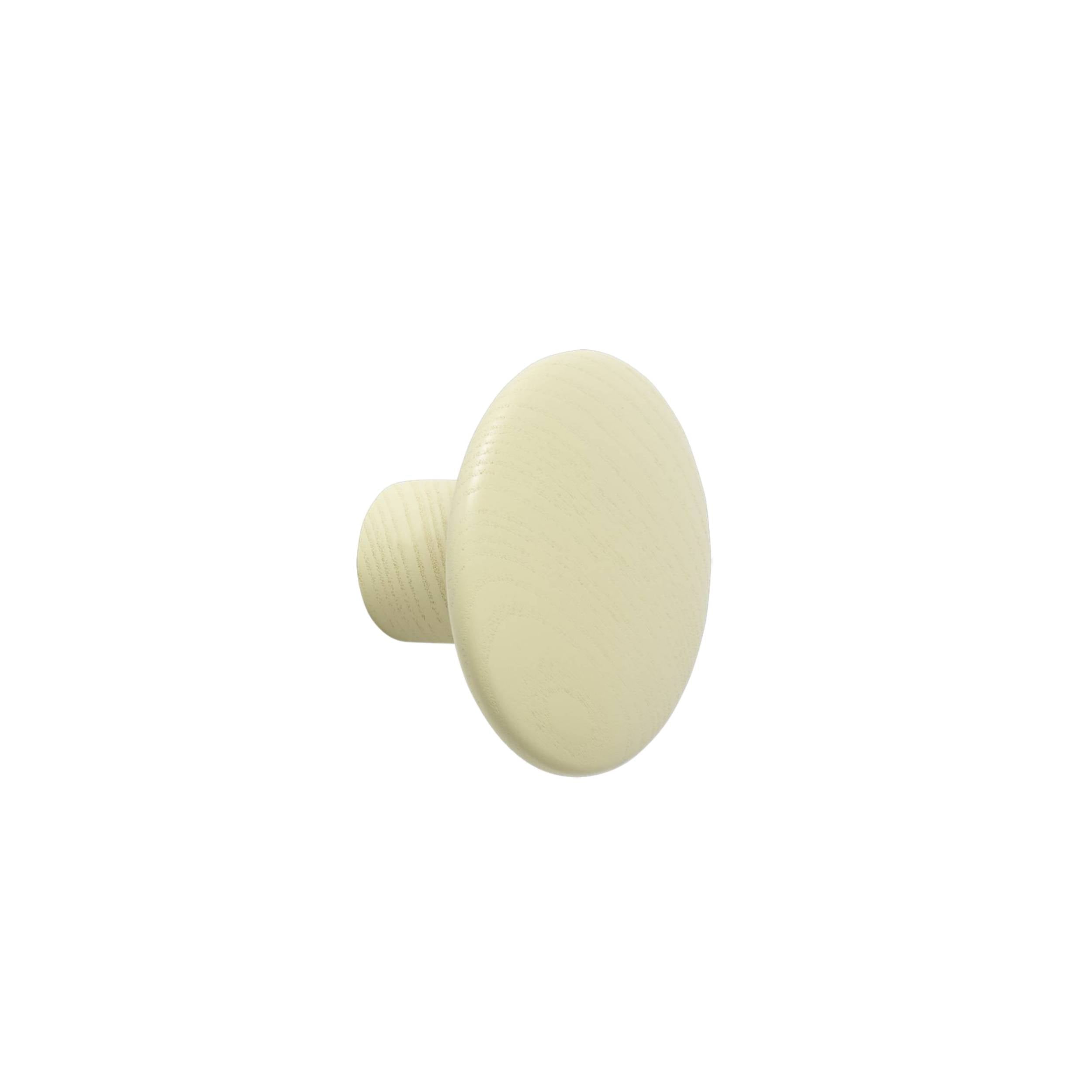 The Dots Wall Hooks: Beige Green + Small