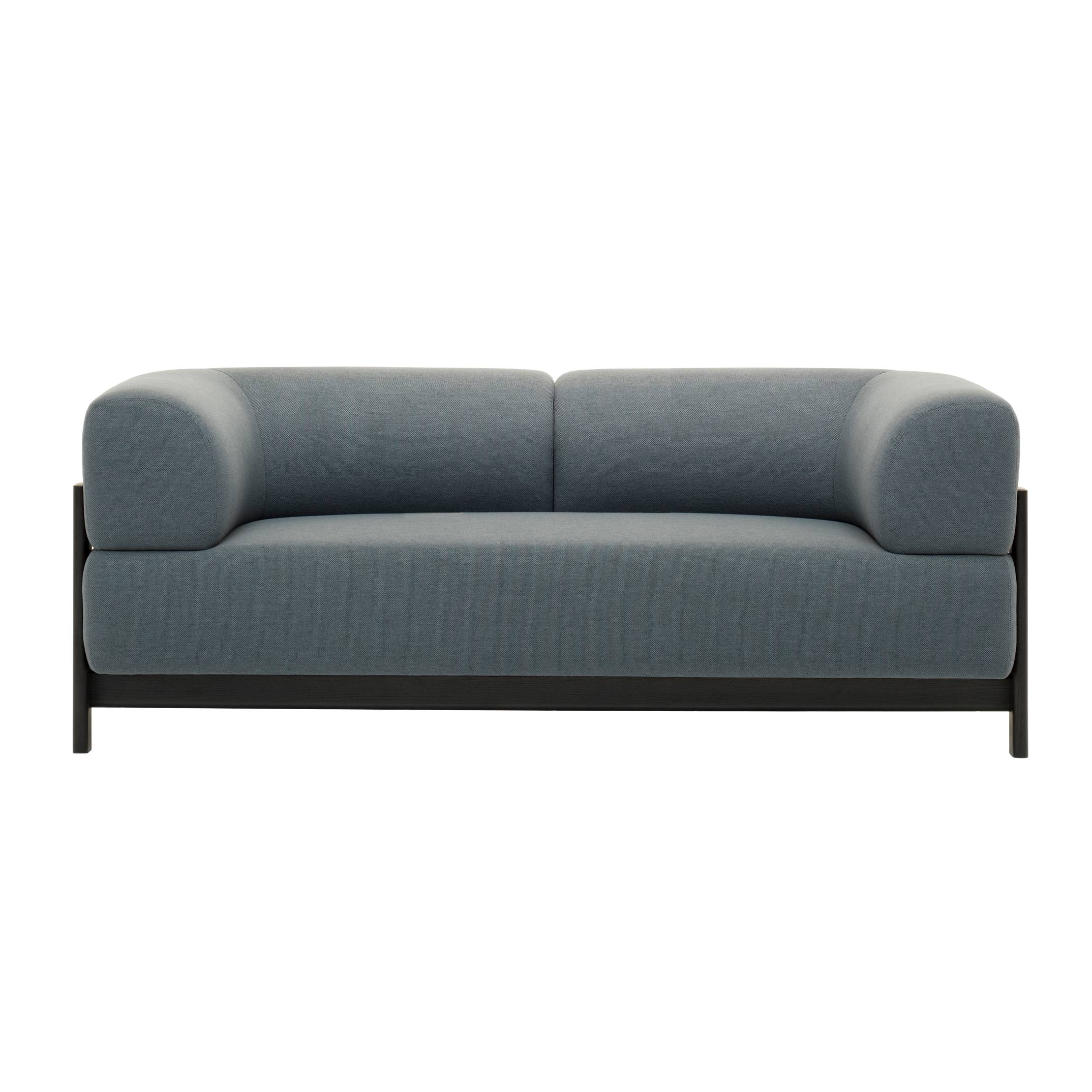 Elephant 2 Seater Sofa: Black
