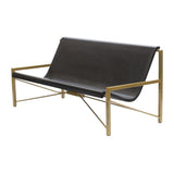 Evia Lounge with Adjustable Heating: Dark Bronze + Charcoal