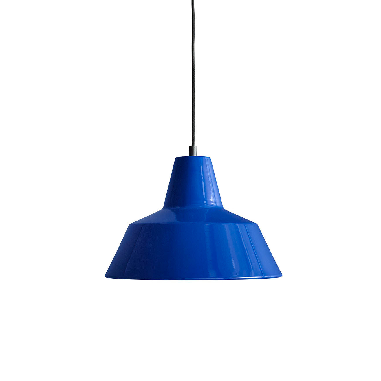 Workshop Pendant Lamp W3: Blue