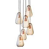 Anoli 6 Chandelier: Gold
