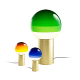 Dipping Light: Small + Amber + Small + Blue + Medium + Green
