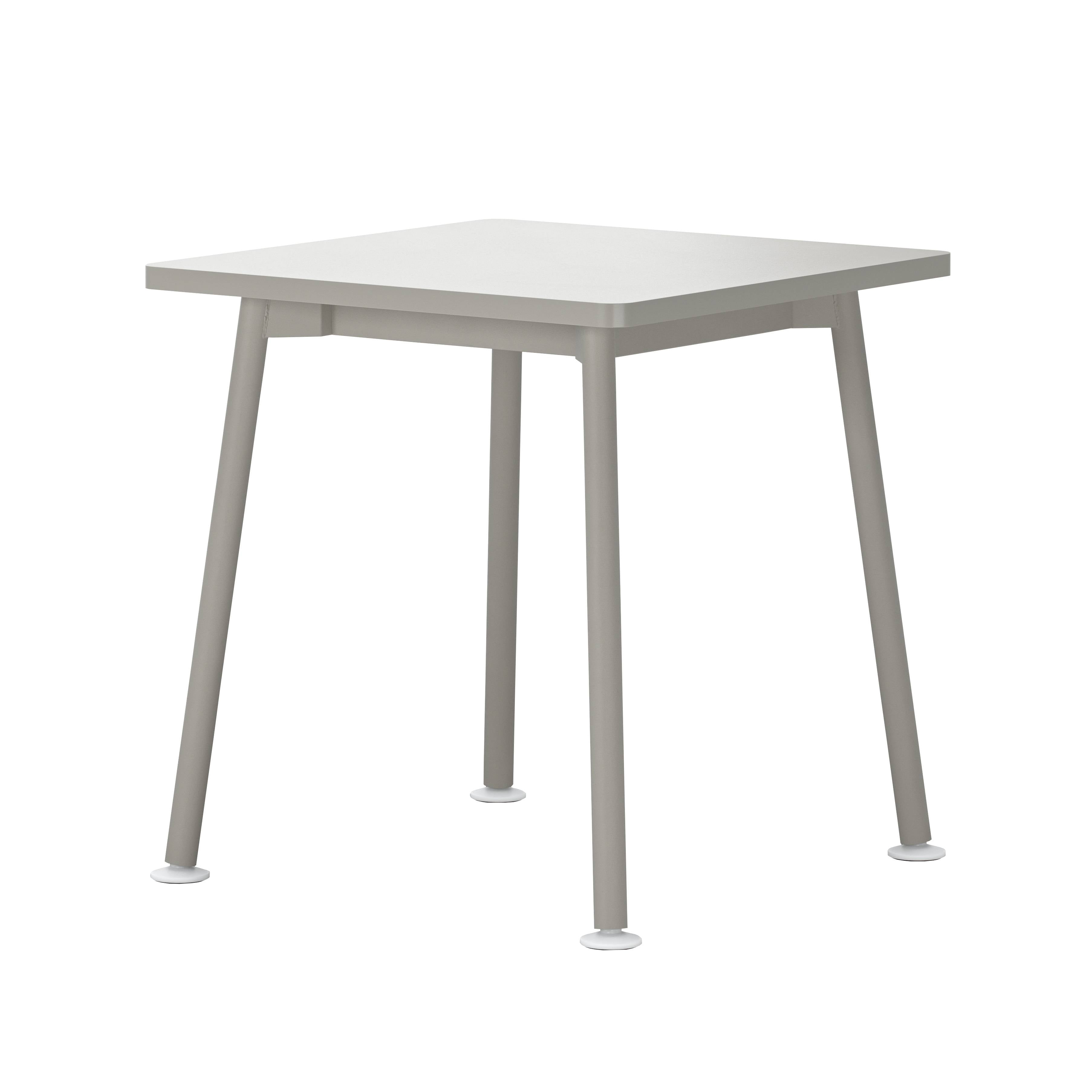 Landa Table: Square + Grey Laminate