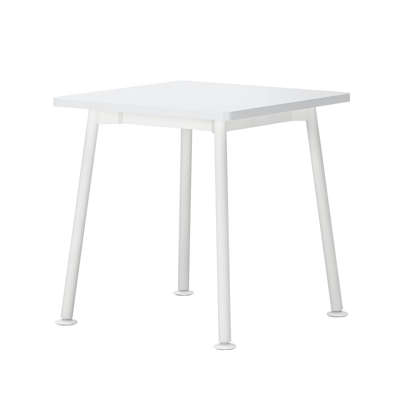 Landa Table: Square + White Laminate