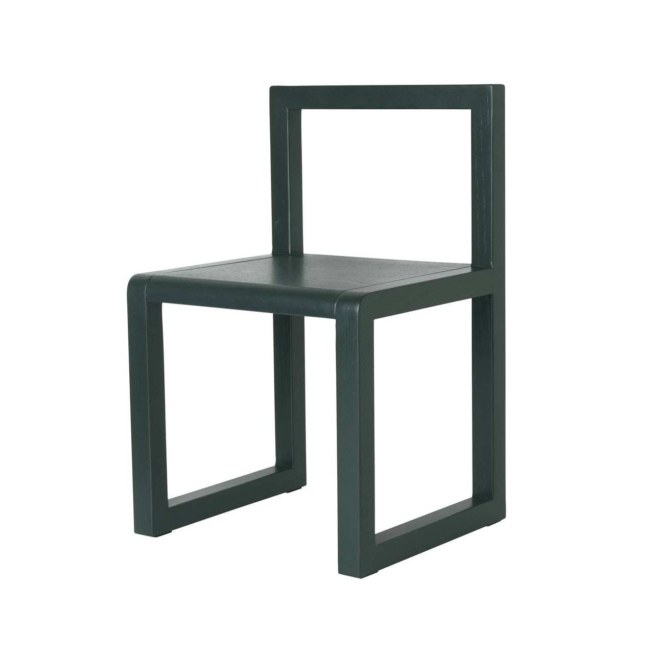 Little Architect Chair: Dark Green