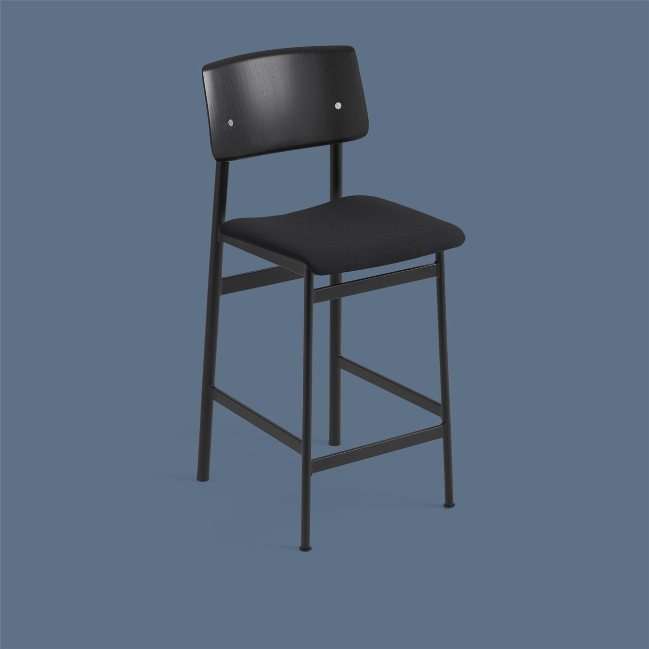 Loft Counter Stool Upholstered